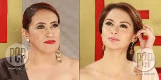 """[x]. Ai-Ai delas Alas on trying to get that """"Marian Rivera"""" look: """"Noong unang makita ko siya, ang puti niya, di ba? Pa-Virgin Mary na ang dating. - 586c06471"""