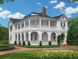 House Plans  Home Plans  Floor Plans and Home Building Designs    Three Bedroom Neoclassical Plan