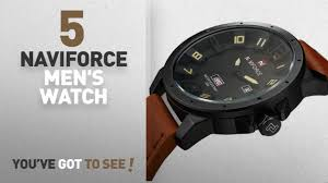 <b>Top</b> 10 <b>Naviforce Men's</b> Watch [2018]: <b>NAVIFORCE</b> Original ...