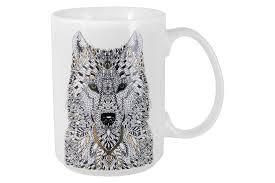 Купить <b>Кружка</b> Волк Wild <b>Home</b> & <b>Style</b> AL-57988 в интернет ...