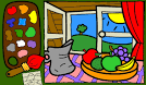 Раскраска игра для малышей играть онлайн