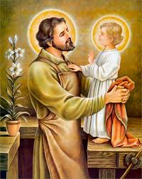 Image result for st joseph chosen by the holy trinity