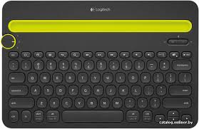 <b>Logitech Bluetooth Multi</b>-<b>Device Keyboard</b> K480 (черный, нет ...