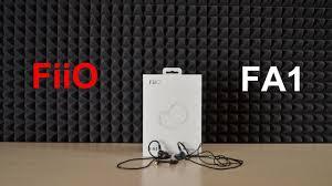 Обзор <b>FiiO FA1</b>. На светлой стороне звука - YouTube