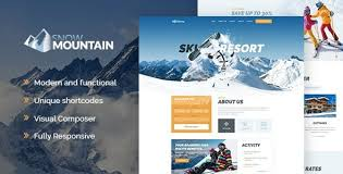 <b>Snow Mountain</b> | Ski Resort & Snowboard School WordPress Theme