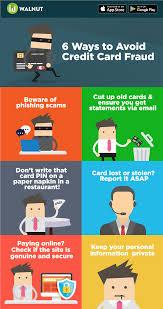 ways to avoid credit card fraud walnut 6 ways to avoid credit card fraud