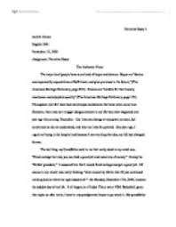 narrative essay   the authentic voice   university linguistics    page  zoom in