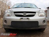 <b>Защита радиатора</b> (решетка бампера, <b>черная) для</b> Suzuki Ignis ...