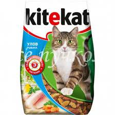 Зоотовары Корм для кошек <b>Kitekat улов рыбака</b> 350 г сухой