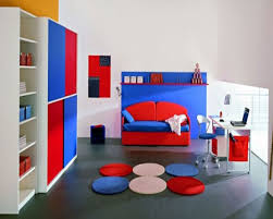 ideas red blue bedroom large size marvelous kids room teen bedroom decorating design with black bed interesting boys charming bedroom ideas red