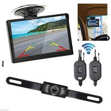 "GZDL 5"" Monitor Car <b>Rear View Backup Reverse Camera</b> Night ..."