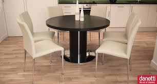Oval Extension Dining Room Tables Details About Hudson Round Extending White Dining Room Table