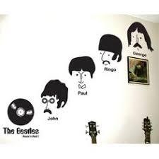 Продажи Нового Рок-н-Ролл Музыка Стикер Стены The Beatles ...