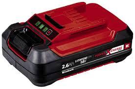 Купить <b>Аккумулятор Einhell</b> Plus Li-Ion <b>PXC 18 В</b>, 2,6 Ач (4511436 ...