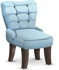 blue chairs furniture comfortable seating wooden blue furniture