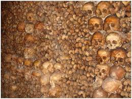 Image result for catacombs france