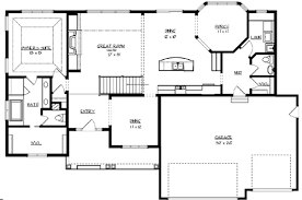House The Sunset Lake House Plan   Green Builder House PlansMain Floor Plan image of The Sunset Lake House Plan