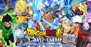 <b>DRAGON BALL</b> SUPER CARD GAME