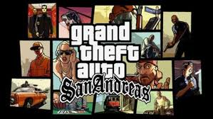 Grand theft auto: San Andreas v1.0.8 Android apk game. Grand theft ...