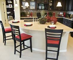 stylish kitchen custom islands quarter circle kitchen island with sink