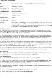 character letter of recommendation samples cover letter database character letter of recommendation samples