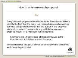 Apa Re Proposal Template  research paper research paper example