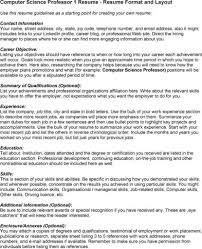 gallery of sample resume computer science  moresume coresume  gallery of sample resume computer science