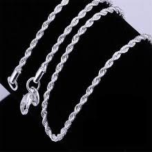 mens <b>silver</b> chains 18 с бесплатной доставкой на AliExpress