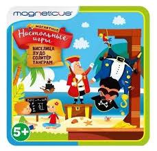 Купить <b>Магнитная настольная игра MAGNETICUS</b> 4-в-1 в ...