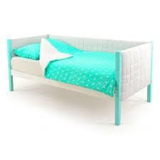 <b>Кровать</b>-<b>тахта Бельмарко Skogen</b> мягкая, <b>мятно</b>-белый — купить ...