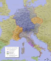 effects of the thirty years war writework english map of the holy r empire in the 10th century
