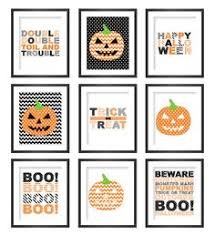 halloween gallery wall decor hallowen walljpg printable halloween wall art  printable halloween wall art