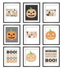 halloween gallery wall decor hallowen walljpg printable halloween wall art  printable halloween wall art