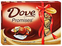 <b>Конфеты DOVE PROMISES</b> 118 гр.
