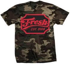 <b>Fresh</b> Cheers - Infrared on Forest <b>Green Camo</b> T-Shirt – Million ...