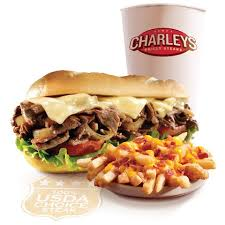 Image result for charley's grilled subs philly cheese steak