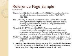 term paper outline format FC