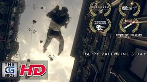 "Award Winning** CGI Short Film: ""<b>Happy Valentine's Day</b>"""