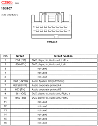 ford taurus radio wiring harness image 1998 ford expedition radio wiring diagram vehiclepad on 1998 ford taurus radio wiring harness