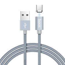 Купить Кабель <b>Hoco U40A Magnetic</b> USB-Type-C 1m Серый с ...