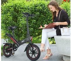 <b>DOHIKER Y1 Folding</b> Electric Bicycle Now Available at $549.99 ...