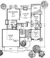 Practical and Stylish Plan   G   st Floor Master Suite    Floor Plan