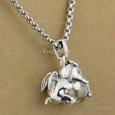 <b>Dumbo</b> Hold White CZ <b>925 Sterling Silver</b> Wing Animal Charm ...