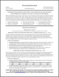 Telecommunications Executive Resume Sample Distinctive Documents sample telecommunication executive resume