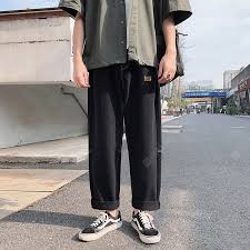 Men's Clothing | Jeans Men's Jeans Hong Kong Wind Fell In A Wide ...