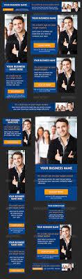 premium web banner design templates corporate use web design blue business banner ad