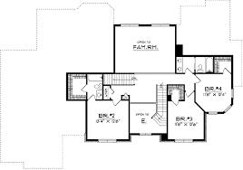 Beautiful Two Story Home Plan   AH   st Floor Master Suite    Reverse Floor Plan Pinit white