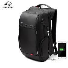 Kingsons 13.3,15.6 <b>17.3 inch Notebook Backpack</b> for Men Women ...