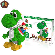 HC <b>Magic Block Big</b> size Yoshi Blocks Mini DIY Building Toy Auction ...