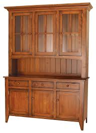 ashville farmhouse cherry wood hutch amish furniture solid wood mission shaker furniture chicago brown solid wood furniture